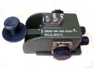 Larkspur radio system - Larkspur telegraph key