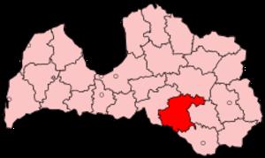 Jēkabpils District - Image: Latvia Jekabpils