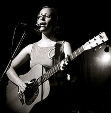 Veirs performing at Walter's on Washington in Houston in 2007