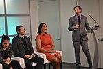 Lauren Bohn (Foreign Policy Interrupted), Ben Pauker (Foreign Policy), Karen Finney (Media Matters), Peter Bergen (New America) (16265187359).jpg