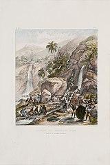 Lavage du Minerai d' Or, Pres de la Montagne Itacolumi