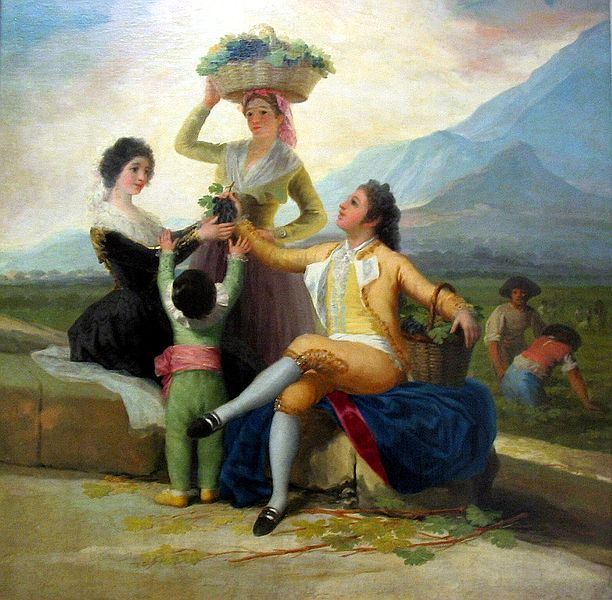 wine harvest by Goya