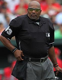 Laz Díaz baseball umpire from the United States