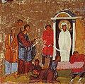 Lazarus Miracle Icon Sinai 12th century.jpg