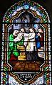 Le Bugue église vitrail St Alexis détail (2).JPG