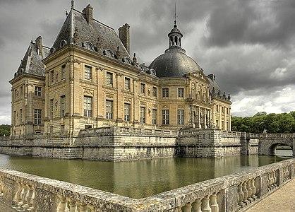 Le chateau de Vaux le Vicomte
