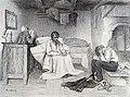 Le désespoir tekening van Albert Bettannier 1893.jpg