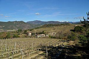 Aubenasson - A general view of the village of Aubenasson