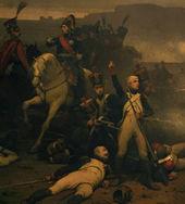 tableau représentant le commandant Lecourbe défendant la ville de Belfort en 1815