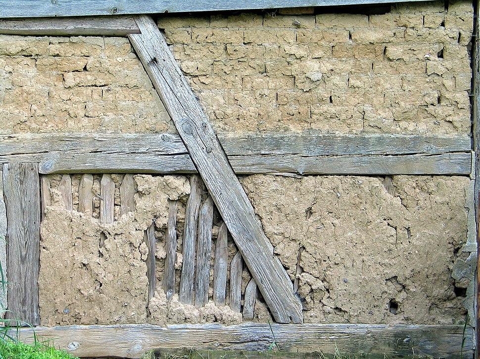 Lehm ausfachung