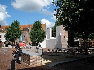 Vrouwekerk - Vrouwenkerkhof square with the remains of the Vrouwekerk