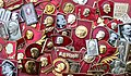 Lenin badges collection.jpg