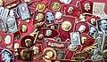 Lenin badges collection.jpg