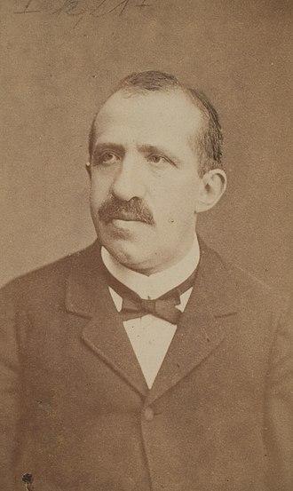 Leo Königsberger - Photograph of Leo Königsberger, 1886