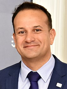 Leo Varadkar Irish politician; Taoiseach (Prime Minister) of Ireland, Minister for Defence, leader of the Fine Gael party