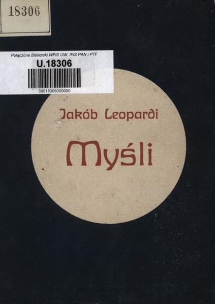 File:Leopardi - Myśli.pdf