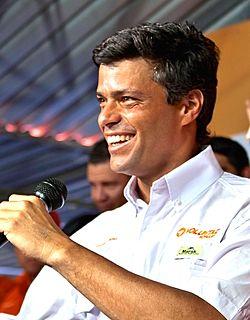 Leopoldo López Venezuelan politician