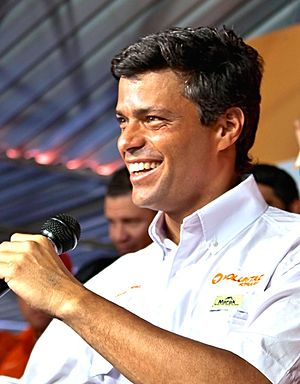 Popular Will - Leopoldo López in 2012.