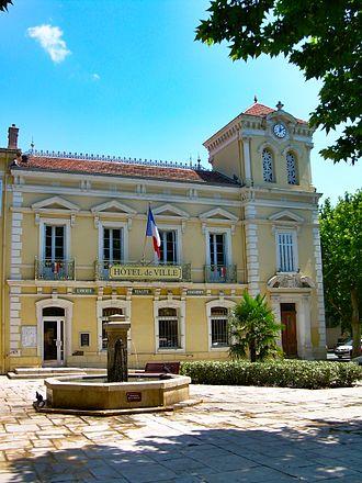Les Arcs, Var - The town hall of Les Arcs