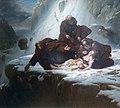 Les Religieux du mont Saint-Gothard - Louis Hersent - Musée du Louvre - INV 5328.jpg