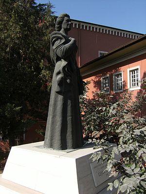 Ankara Opera House - Image: Leyla Gencer Anıtı
