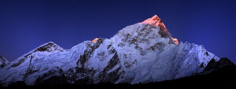 Lhotse from gorakshep