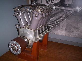 Liberty L-8 - Image: Liberty Aircraft Engine Number 1