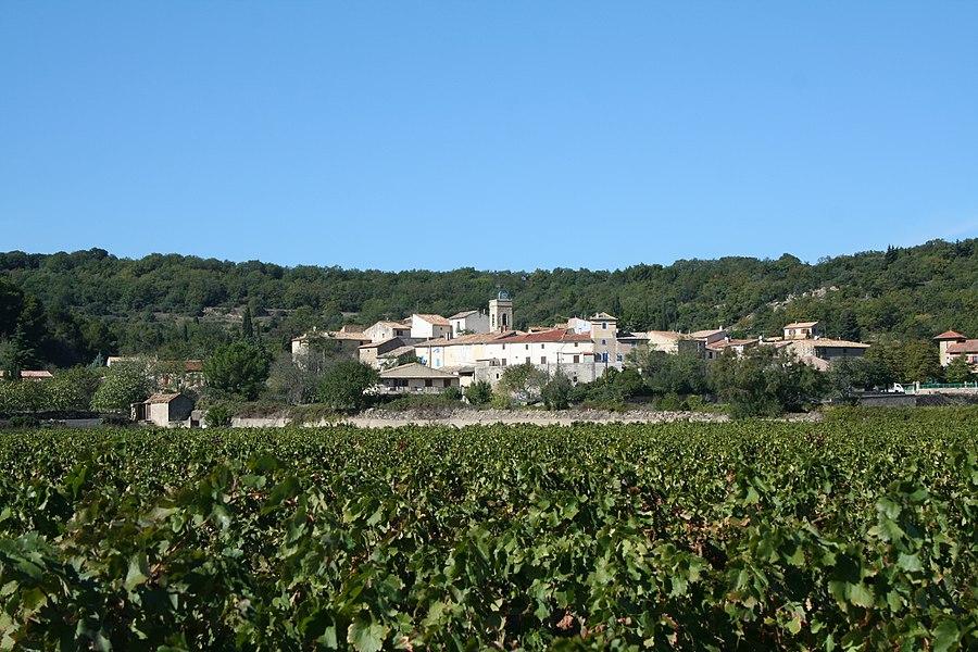 Lieuran-Cabrières (Hérault) - vue générale.