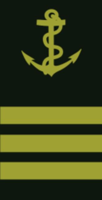 Lieutenant (navy) - Image: Lieutenant de vaisseau France