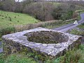 Lime kiln, top view - geograph.org.uk - 1050023.jpg