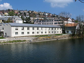 Wipkingen - The Limmat in Wipkingen
