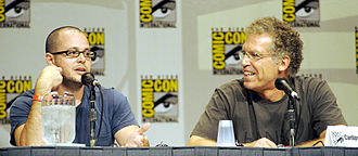 Lost (TV series) - Damon Lindelof (left) co-created the series and served as an executive producer and showrunner alongside Carlton Cuse (right).