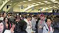 Line to get into WonderCon 2010 2.JPG