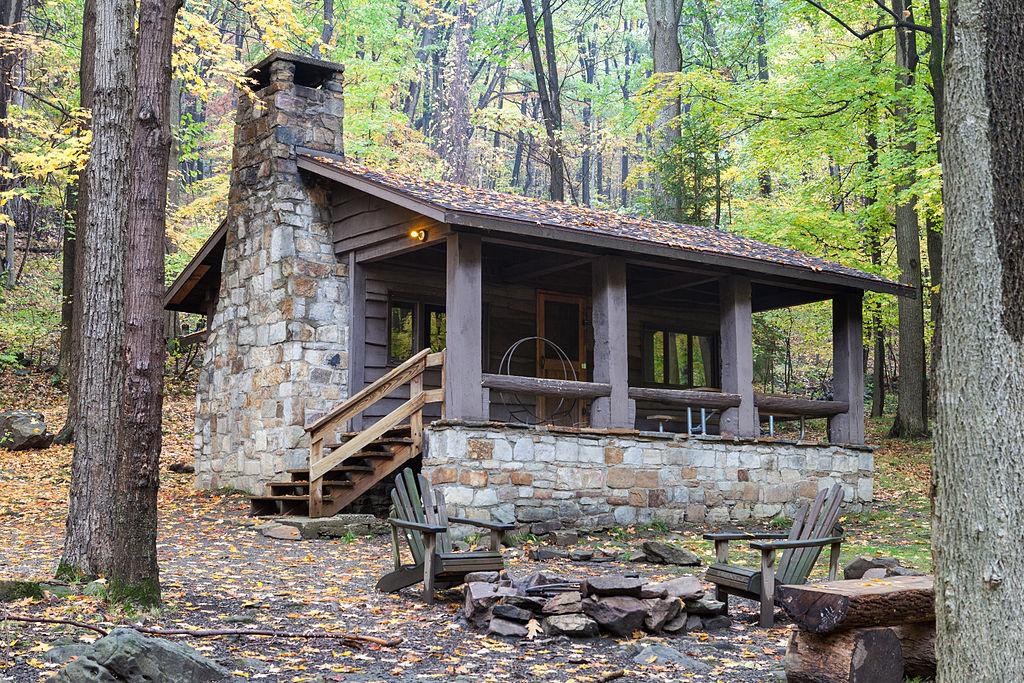 File Linn Run State Park Family Cabin District Cabin 9 Jpg