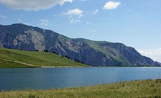 Dibër (municipality) - Image: Liqeni i Gramës