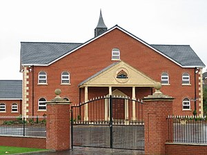 Religion in the United Kingdom - Lisburn Free Presbyterian Church, County Antrim, Northern Ireland
