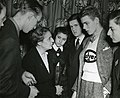 Lise Meitner (1878-1968) with Science Talent Search finalists, 1946.jpg