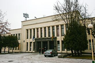 Lithuania men's national basketball team - Physical Culture Palace