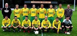 Llanidloes Town F.C. - Llanidloes Town FC 1st team Aug 2010