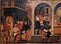 Lo scheggia, storie di traiano e la vedova, 1430-40 ca. 02.jpg