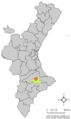 Localització de Gaianes respecte el País Valencià.png