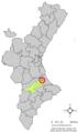 Localització de Pinet respecte del País Valencià.png