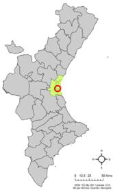 Localització de Poblenou de la Corona respecte del País Valencià.png