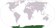 Poloha Antarktidy
