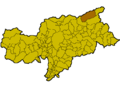 Location of Ahrntal (Italy).png