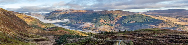 Loch Lubnaig from the path to Ben Ledi, Scotland.jpg