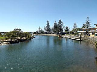 Loders Creek river in Australia