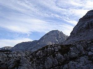 Lofer Mountains - Image: Loferer Steinberge großes Ochsenhorn