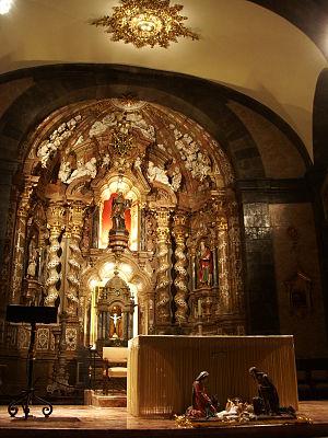 Sanctuary of Loyola - Image: Loiola aldare nagusia Azpeitia 2006 12 29