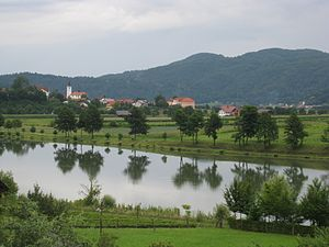 Lower Sava Valley - Landscape near Radeče